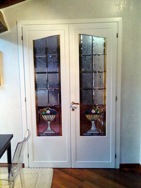 verniciare porte-interne-bianche-sassuolo - Bartoli Verniciatura